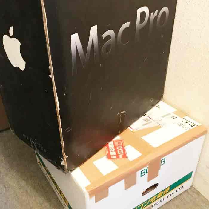 Mac宅配郵送修理