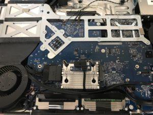 iMac24インチロジックボード交換