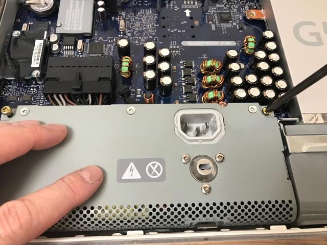 iMacG5電源ユニットの交換
