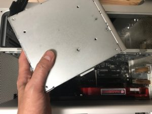 Mac Pro電源ユニットの故障