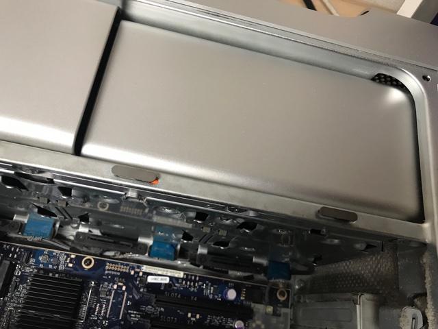 Mac Pro電源ユニット交換