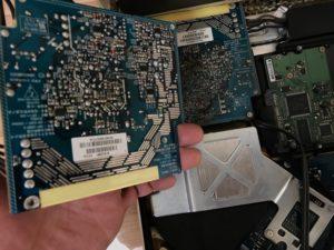 iMac電源ユニット交換