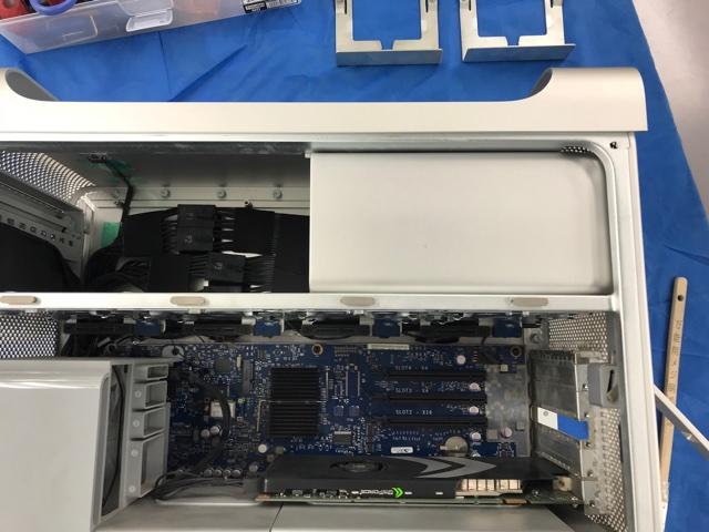 Mac Pro2008電源交換