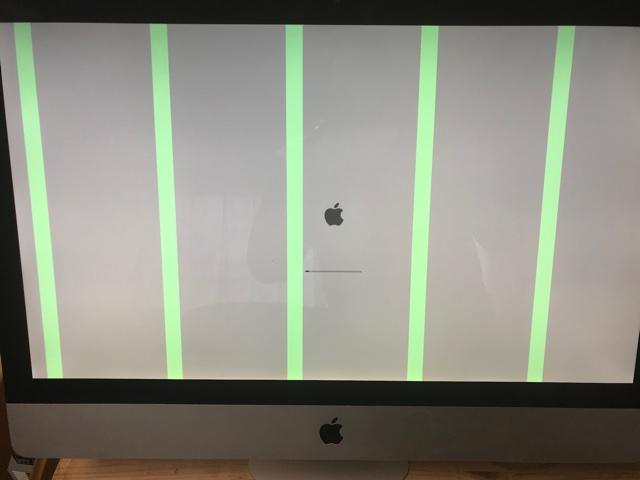 iMac2011ビデオノイズ
