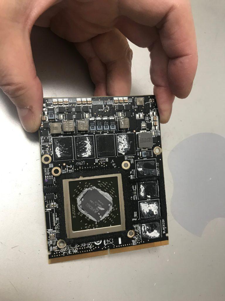 iMac2011ビデオカード修理