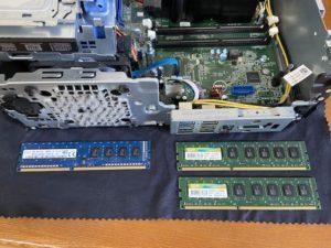 DellOptiplex3040メモリ増設