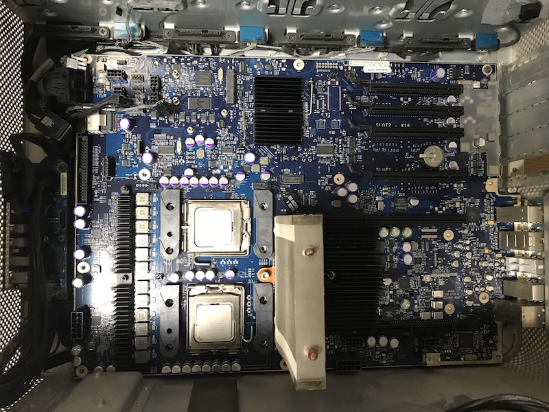 MacPro2008ロジックボード交換