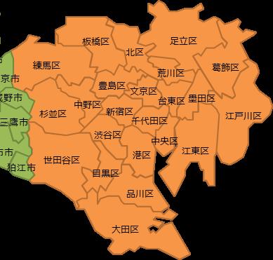 23区地図