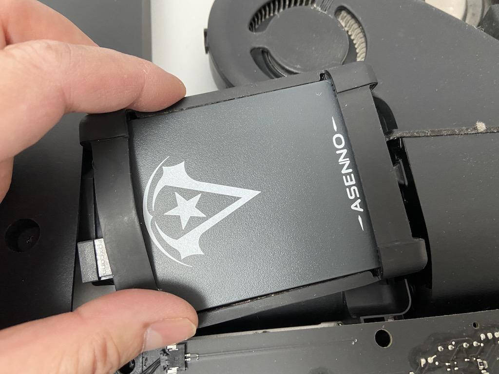imac2012SSDに交換